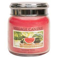 Village Candle Svíčka ve skleněné dóze Village Candle Letní pohoda, 454 g