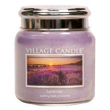 Village Candle Svíčka ve skleněné dóze Village Candle Levandule, 454 g