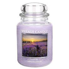 Village Candle Svíčka ve skleněné dóze Village Candle Levandule, 737 g