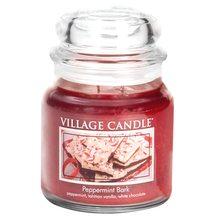 Village Candle Svíčka ve skleněné dóze Village Candle Mátové potěšení, 454 g