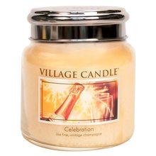 Village Candle Svíčka ve skleněné dóze Village Candle Oslava, 454 g
