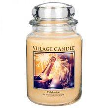Village Candle Svíčka ve skleněné dóze Village Candle Oslava, 737 g