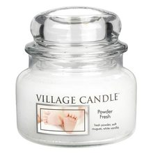 Village Candle Svíčka ve skleněné dóze Village Candle Pudrová svěžest, 312 g