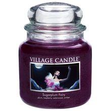 Village Candle Svíčka ve skleněné dóze Village Candle Půlnoční víla, 454 g