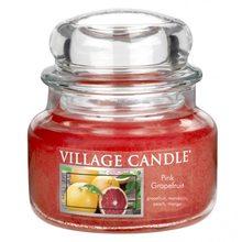 Village Candle Svíčka ve skleněné dóze Village Candle Růžový grapefruit, 312 g