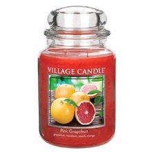 Village Candle Svíčka ve skleněné dóze Village Candle Růžový grapefruit, 737 g
