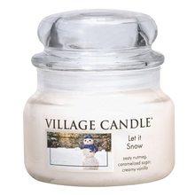 Village Candle Svíčka ve skleněné dóze Village Candle Sněhová Nadílka, 312 g