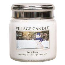 Village Candle Svíčka ve skleněné dóze Village Candle Sněhová Nadílka, 454 g