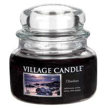 Village Candle Svíčka ve skleněné dóze Village Candle Tajemný Obsidián, 312 g