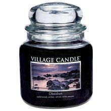 Village Candle Svíčka ve skleněné dóze Village Candle Tajemný obsidián, 454 g