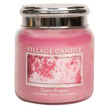 Village Candle Svíčka ve skleněné dóze Village Candle Třešňový květ, 454 g