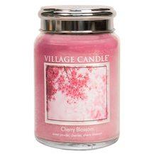 Village Candle Svíčka ve skleněné dóze Village Candle Třešňový květ, 737 g