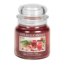 Village Candle Svíčka ve skleněné dóze Village Candle Vánoční čas, 454 g