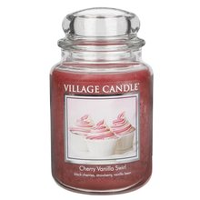 Village Candle Svíčka ve skleněné dóze Village Candle Višeň a vanilka, 737 g