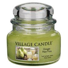 Village Candle Svíčka ve skleněné dóze Village Candle Zázvor s hruškou, 312 g