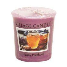Village Candle Vonná svíčka Village Candle Med a pačuli, 57 g