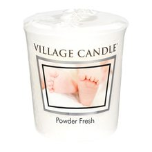 Village Candle Vonná svíčka Village Candle Pudrová svěžest, 57 g