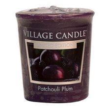 Village Candle Vonná svíčka Village Candle Švestka a pačuli, 57 g