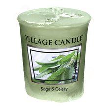 Village Candle Vonná svíčka Village Candle Svěží šalvěj, 57 g