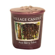 Village Candle Vonná svíčka Village Candle Tabák a plody akai, 57 g