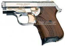 Voltran Plynová pistole Ekol Agent Volga chrom gold s rytinou cal.9mm