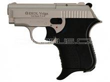 Voltran Plynová pistole Ekol Agent Volga satén nikl cal.9mm