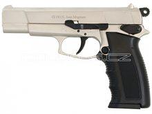 Voltran Plynová pistole Ekol Aras Magnum satén nikl cal.9mm