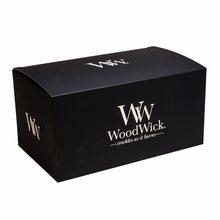 WoodWick Dárková krabička WoodWick Na svíčku HearthWick, černá