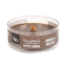 WoodWick Drobná svíčka WoodWick Ambra a kadidlo, 31 g