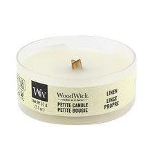 WoodWick petite Linen