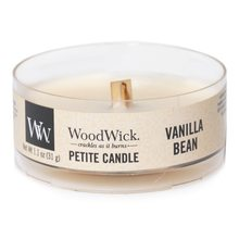 WoodWick petite Vanilla Bean