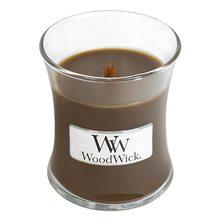 WoodWick sklo malé Amber & incense