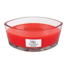 WoodWick Svíčka dekorativní váza WoodWick Červená jeřabina, 453.6 g