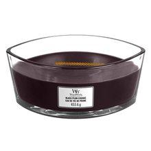 WoodWick Svíčka dekorativní váza WoodWick Koňak z černých švestek, 453.6 g