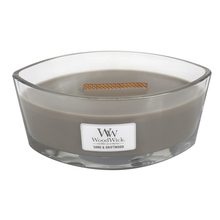 WoodWick Svíčka dekorativní váza WoodWick Písek a naplavené dříví, 453.6 g