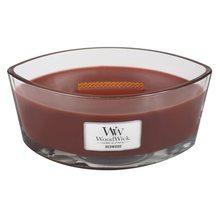 WoodWick Svíčka dekorativní váza WoodWick Santalové dřevo, 453.6 g