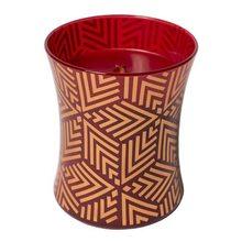 WoodWick Svíčka oválná váza WoodWick Červená jeřabina, 275 g
