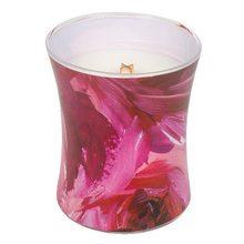 WoodWick Svíčka oválná váza WoodWick Červený rybíz a cedr, 275 g