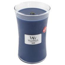 WoodWick Svíčka oválná váza WoodWick Džínovina, 609.5 g
