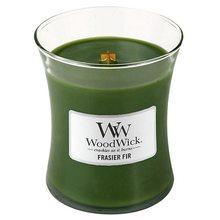 WoodWick Svíčka oválná váza WoodWick Jedle, 275 g