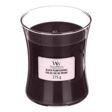 WoodWick Svíčka oválná váza WoodWick Koňak z černých švestek, 275 g
