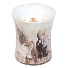 WoodWick Svíčka oválná váza WoodWick Medový tabák, 275 g