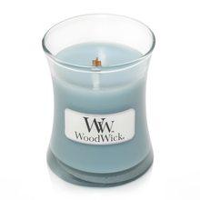 WoodWick Svíčka oválná váza WoodWick Mořská sůl a bavlna, 85 g