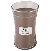 WoodWick Svíčka oválná váza WoodWick Písek a naplavené dřevo, 609.5 g