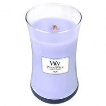 WoodWick Svíčka oválná váza WoodWick Šeřík, 609.5 g