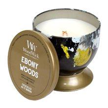 WoodWick Svíčka plechová dóza WoodWick Ebenové dřevo, 240.9 g