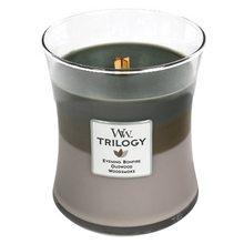 WoodWick Svíčka Trilogy WoodWick Útulný srub, 275 g