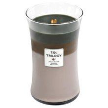 WoodWick Svíčka Trilogy WoodWick Útulný srub, 609.5 g