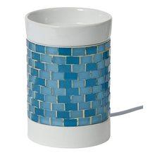 Yankee candle Aromalampa elektrická Yankee Candle Modrá, svítící, výška 15 cm