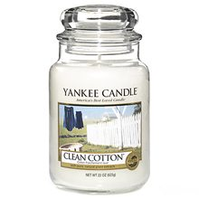 Yankee candle Clean Cotton 623g Čistá bavlna